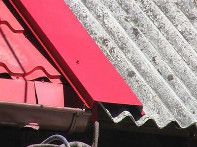 Брандмауэр в строительстве из листов свинца
