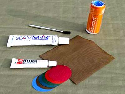 Материалы для ремонта надувного матраса
