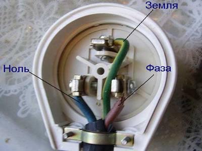 Как определить правильность подключения провода
