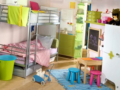 Детская комната для 2 малышей