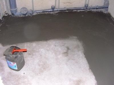 Штукатурная гидроизоляция в ванную
