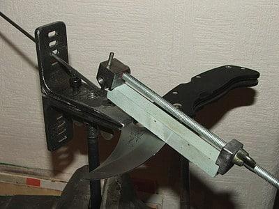 Самодельная заточка ножей своими руками - создаем ножеточку с помощью чертежей