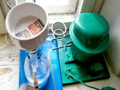 Вакуумный насос из холодильника