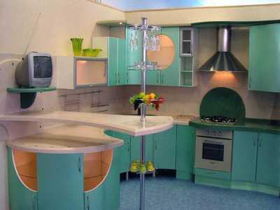 Стандартная барная стойка на кухню