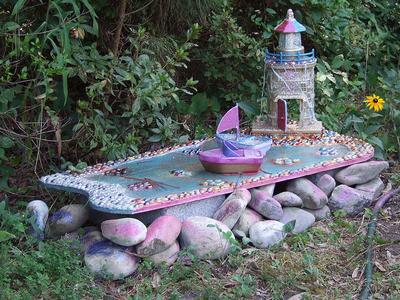 Оформление участка подручными материалами: поделки для сада своими руками - все новинки для творческих дачников