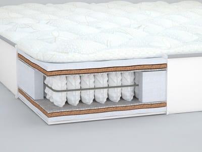 С пользой для здоровья: как выбрать матрас для двуспальной кровати, чтобы не ощущать жесткость