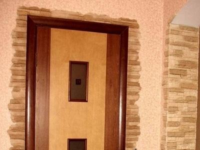Откосы на входной двери