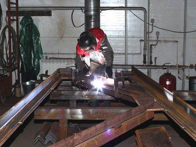 Изготовление ригельных балок