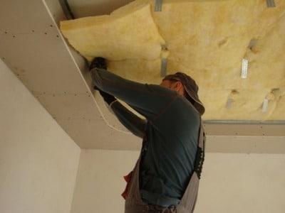 Звукоизоляция Тексаунд под натяжной потолок
