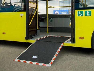Пандус в автобусе