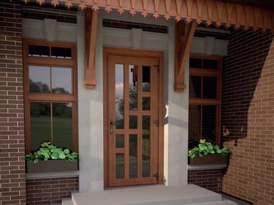 Правильный выбор домашней защиты: какими должны быть деревянные входные двери для частного дома