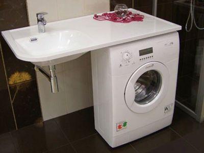Экономим пространство и монтируем умывальник над стиральной машиной своим руками