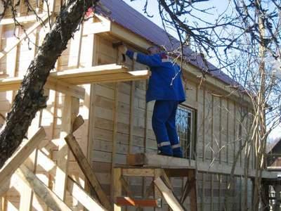 Наружная отделка деревянного дома своими руками