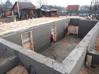 Фундамент и цокольный этаж