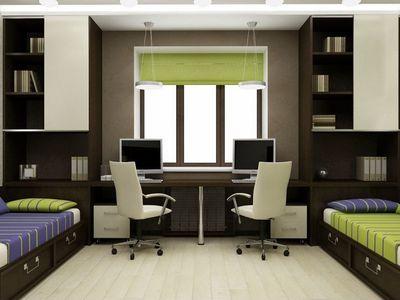 Комната для двух мальчиков школьников