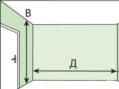 Измеряем площадь комнаты