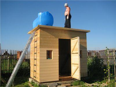 Зачем тратить больше: какие бывают бытовки дачные двухкомнатные с туалетом и душем и можно ли жить в них в зимнее время