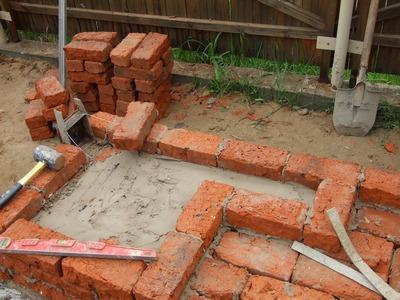 Инструменты и материалы для камина из кирпича