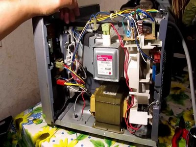 Поломка трансформатора в микроволновке