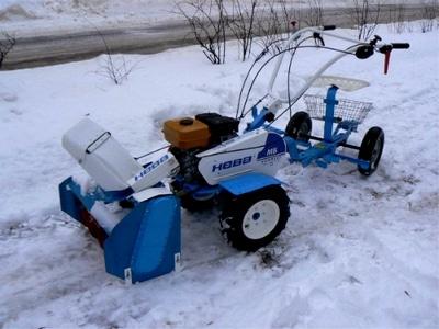 Насадка для уборки снега