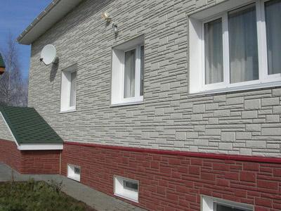 Декоративная отделка фасадов частных домов, фото коттеджей и виды современных материалов для облицовки