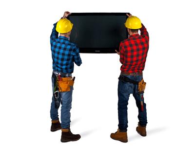 Установка настенной конструкции своими руками: крепеж для телевизора на стену