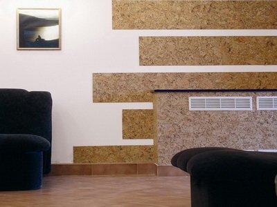 Внутренняя отделка дома своими руками: ламинат на стене в интерьере - фото готовых идей прилагается