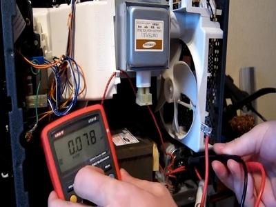 Измерение напряжения тока