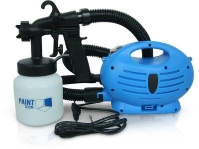 Для чего нужен электрический пульверизатор для покраски и как правильно красить им стены деревянного дома или потолка
