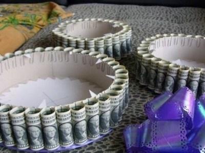 Свадебный сундук для денег своими руками