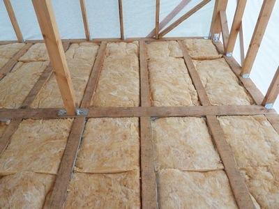 Утепление деревянного пола минеральной ватой