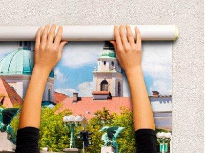 Ремонт своими руками: как клеить фотообои на стену флизелиновый материал на бумажной основе