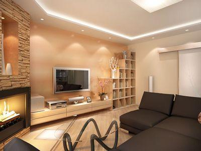 Идеи оформления интерьера маленькой гостиной в квартире