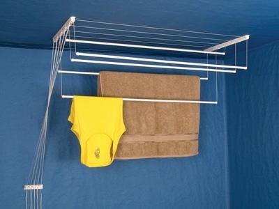 Лиана для сушки белья в ванной