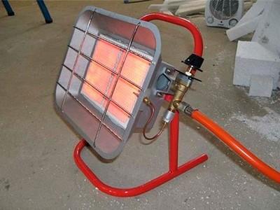 Инфракрасный газовый обогреватель для гаража