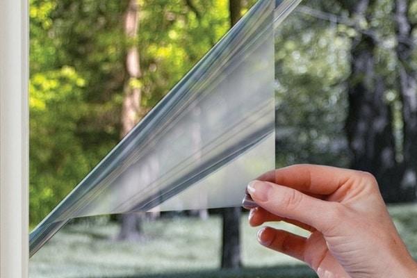 Плёнка тонировочная для окон зеркальная