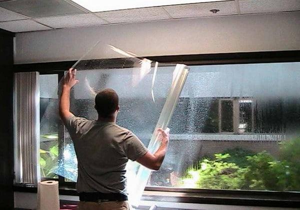 Пленка для утепления пластиковых окон