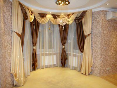 шторы для зала