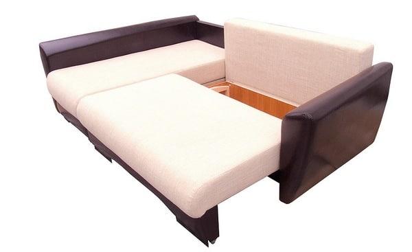 Мини угловые диваны со спальным местом