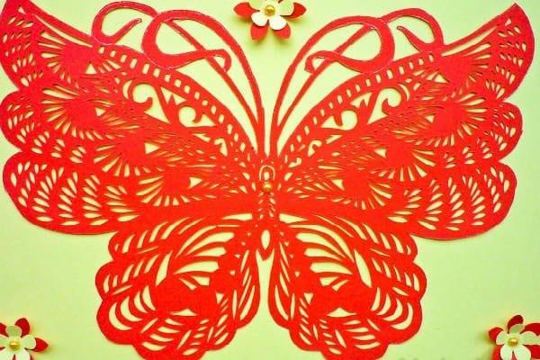 техника киригами