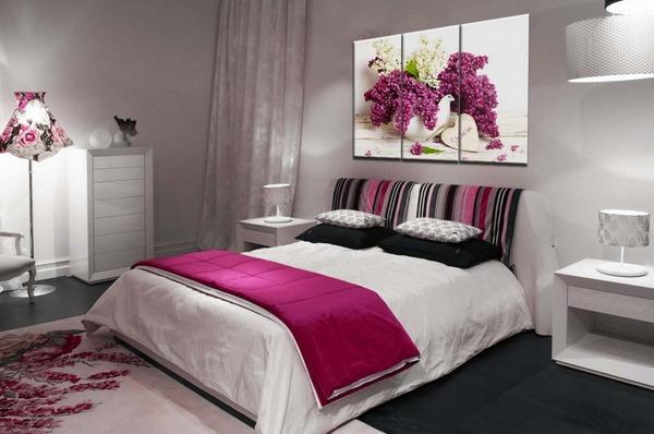 Модульные картины для спальни