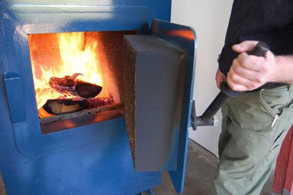 печь на отработке расход масла