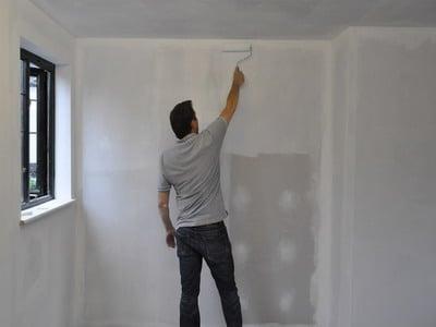 подготовка кирпичной стены под обои