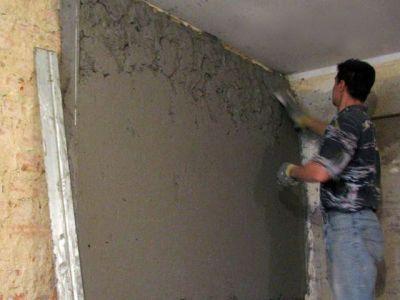 технология выравнивания стен под обои