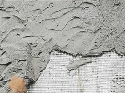 расход цементной штукатурки на 1м2