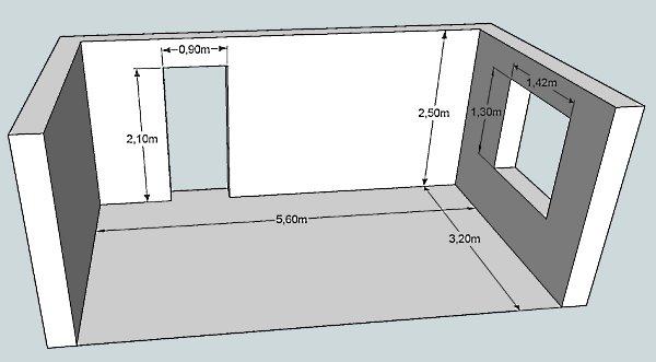 Как рассчитать жидкие обои на комнату