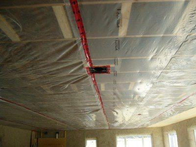 укладка на потолок