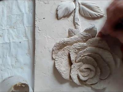 барельеф на стене эскизы
