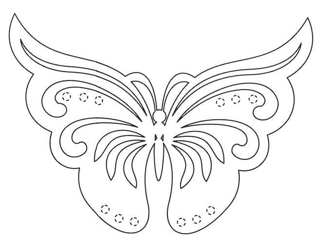 Бабочки из бумаги на стену своими руками