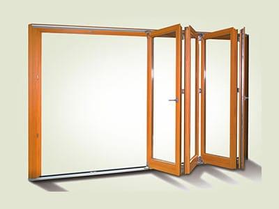 установка раздвижных межкомнатных дверей гармошка